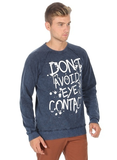 T-Box Sweatshirt İndigo